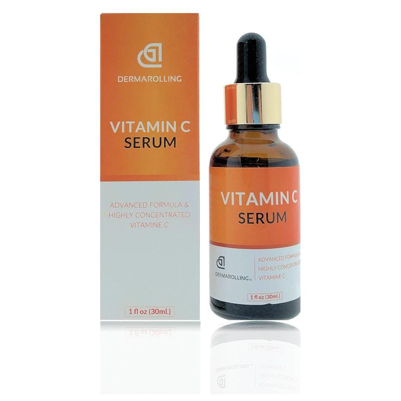 Afbeelding van Dermarolling Vitamine C Serum 30ml.