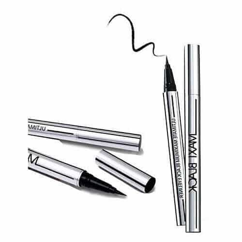 Maxi Black Waterproof Eye Liner Pencil