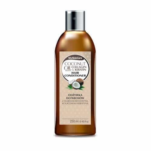 Afbeelding van GlySkinCare Coconut Oil Hair Conditioner 250ml.