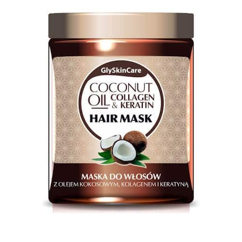 Afbeelding van GlySkinCare Coconut Oil Hair Mask 300ml.
