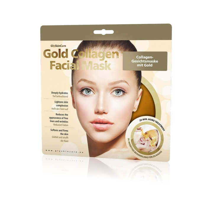 Afbeelding van GlySkinCare Gold Collagen Face Mask