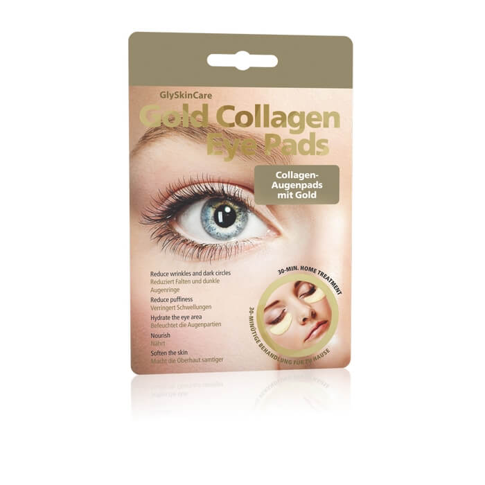 Afbeelding van GlySkinCare Gold Collagen Eye Pads