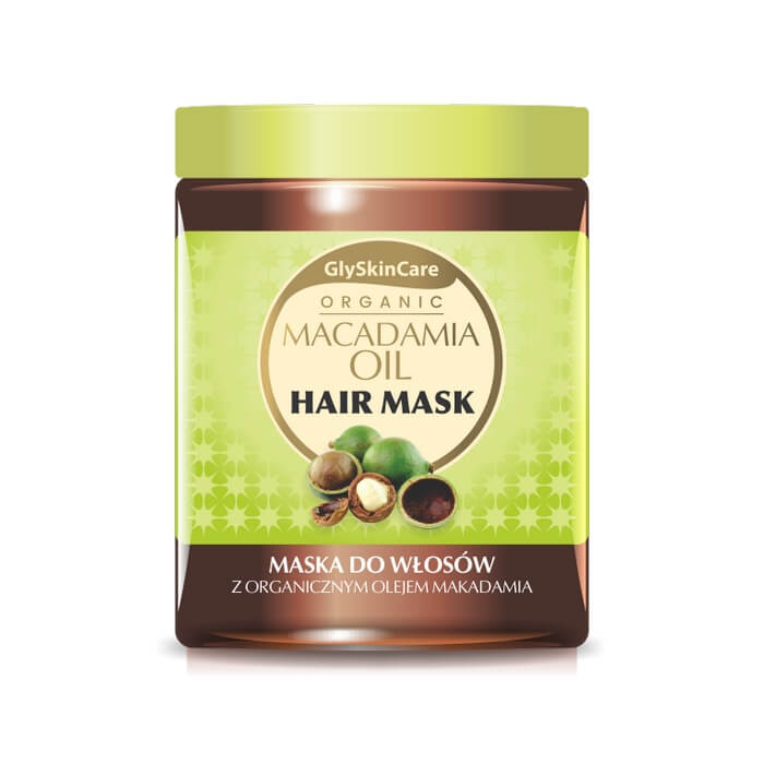 Afbeelding van GlySkinCare Macadamia Oil Hair Mask 300ml.