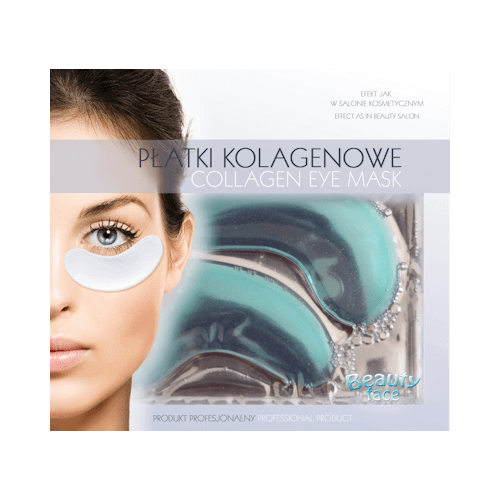 Beautyface Collageen Oogmasker Algae Extract