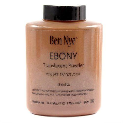 Ben Nye Classic Translucent Face Powder Ebony 3.0 oz