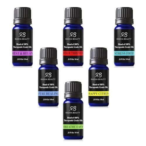 RADHA Beauty Essential Oil Blends 10ml.