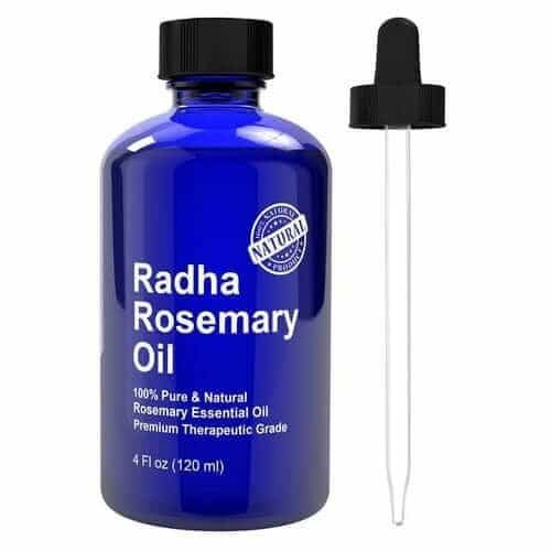 RADHA Beauty Rosemary Essential Oil 120ml.