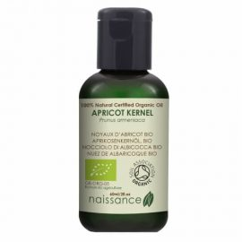 Naissance Apricot Kernel Certified Organic Oil 60ml.