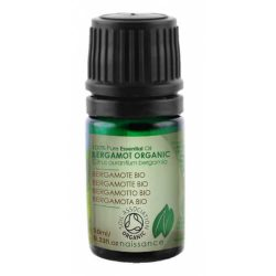 Naissance Bergamot Certified Organic Essential Oil 10ml.