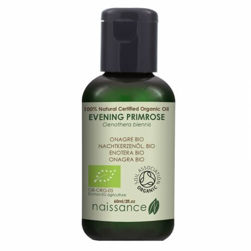 Naissance Evening Primrose Certified Organic Oil 60ml.