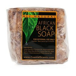 Coastal Scents African Black Soap 450gr.