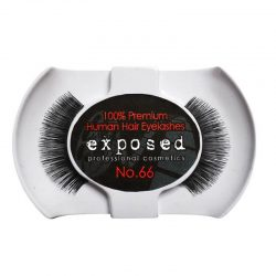 Exposed 100% Premium Human Hair Eyelashes #66