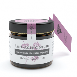 MakeMeBio® Anti-aging night Night cream for mature skin 60ml.