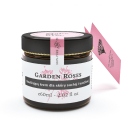 MakeMeBio® Garden Roses Moisturizing cream for dry and sensitive skin 60ml.