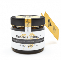 MakeMeBio® Orange Energy Moisturizing cream for normal and sensitive skin60ml.