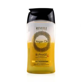 REVUELE® ARGAN OIL Bi-Phase Waterproof Make-Up Remover 160ml.