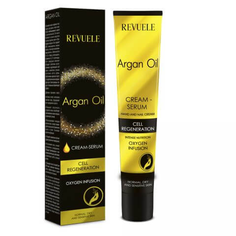 Afbeelding van Revuele Argan Oil Hand & Nail Cream - Serum 50ml.
