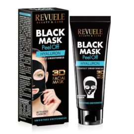 REVUELE® BLACK MASK Peel Off Hyaluron 80ml.