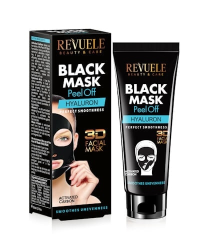 Afbeelding van Revuele Black Mask Peel Off - Hyaluron 80ml.