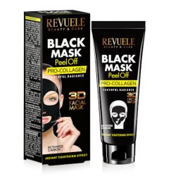 REVUELE® BLACK MASK Peel Off Pro Collageen 80ml.