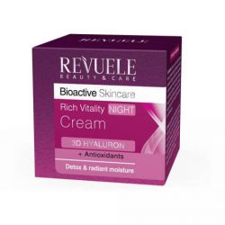 REVUELE® Bio Active Skin Care 3D Hyaluron Rich Vitality Night Cream 50ml.