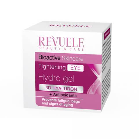 Afbeelding van REVUELE® Bio Active Skin Care 3D Hyaluron Tightening Eye Hydro Gel 25ml.