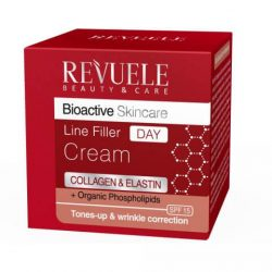 REVUELE® Bio Active Skin Care Collagen & Elastin Line Filler Day Cream 50ml