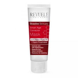 REVUELE® Bio Active Skin Care Collagen & Elastin Smart Age Corrector Mask 80ml.