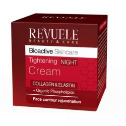 REVUELE® Bio Active Skin Care Collagen & Elastin Tightening Night Cream 50ml.