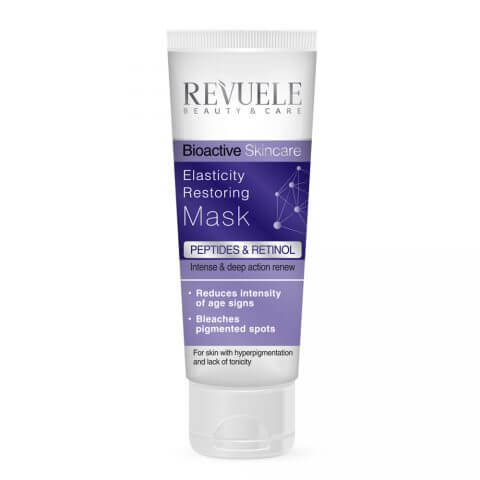 Afbeelding van Revuele Bioactive Skin Care Peptides & Retinol Elasticity Restoring Mask 80ml.