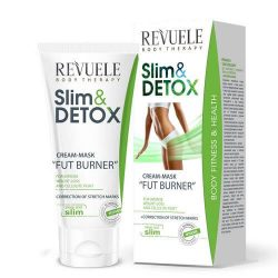 REVUELE® Fat Burner Slim&Detox Cream Mask 200ml.
