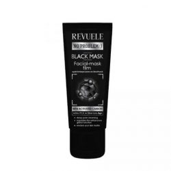 REVUELE® NO PROBLEM Black Mask Peel Off met Activated Carbon 80 ml.