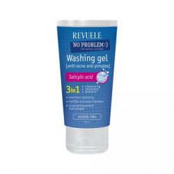 REVUELE® No Problem Washing Gel Anti-Acne & Pimples With Salicylic Acid 200ml.