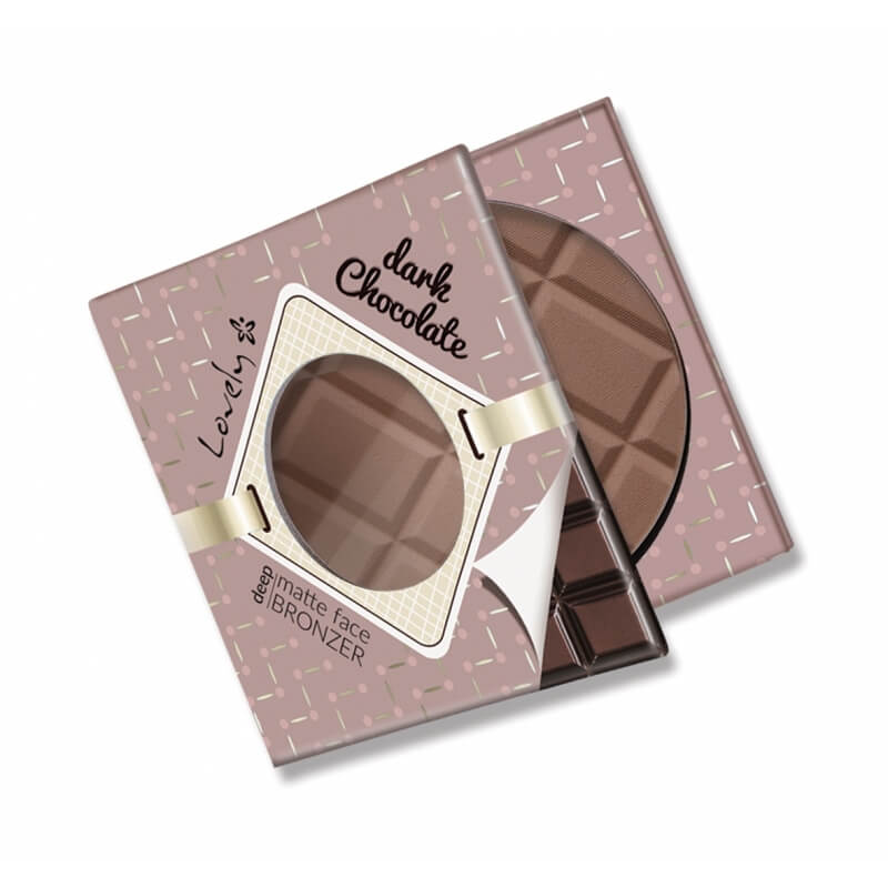 Afbeelding van Lovely Matte Face Bronzer Dark Chocolate