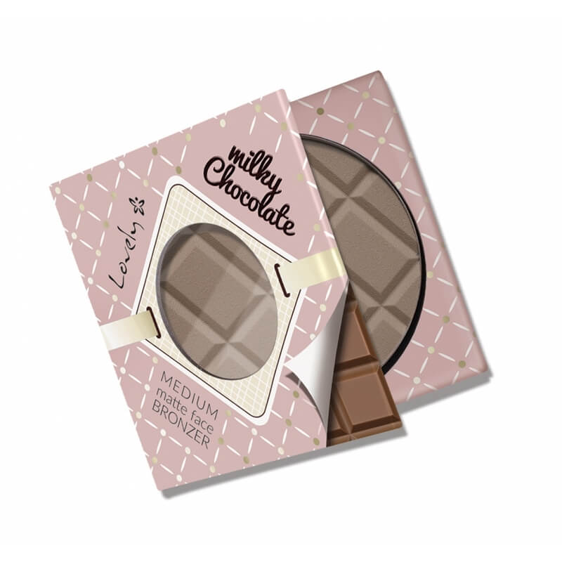 Afbeelding van Lovely Matte Face Bronzer Milky Chocolate