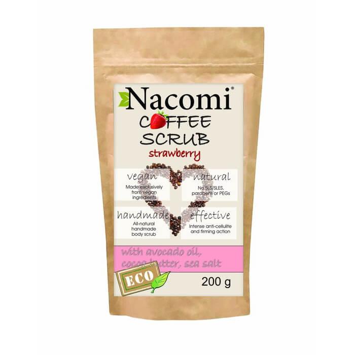 Afbeelding van Nacomi Coffee Scrub - Strawberry 200gr.