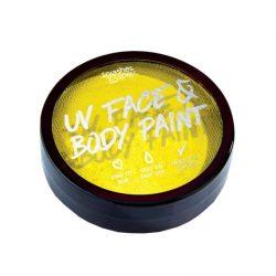 Splashes & Spills 18g UV Face & Body Cake Paint - Yellow
