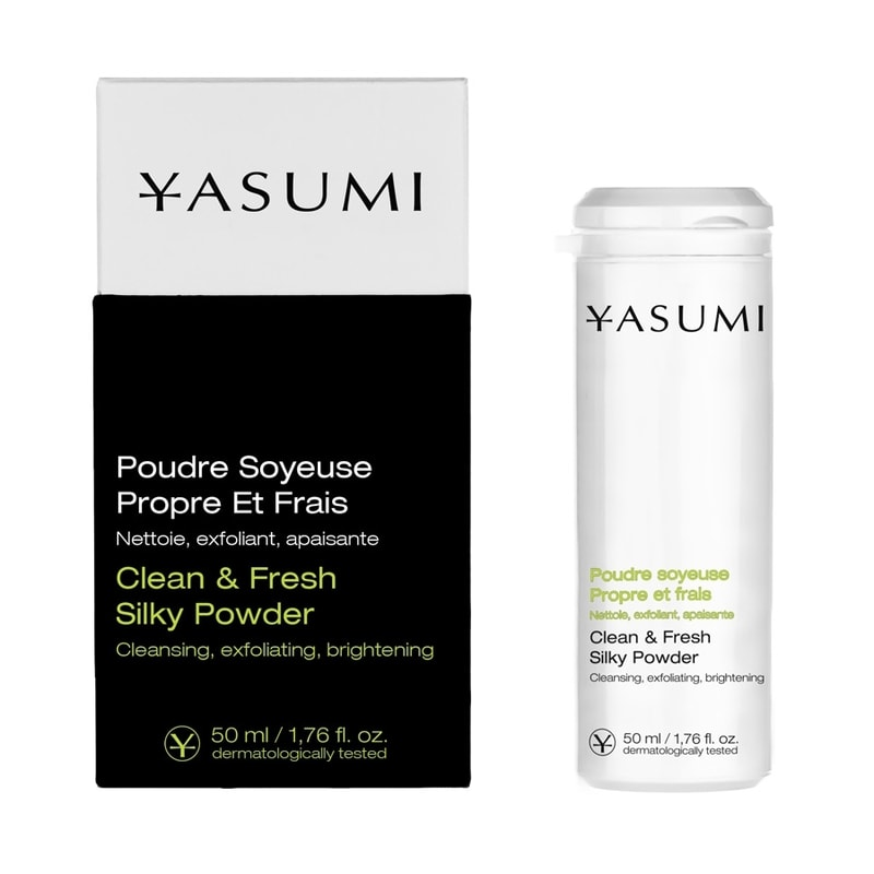 Afbeelding van Yasumi Clean & Fresh Silky Powder 50ml.