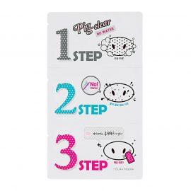 Holika Holika Pig Clear Blackhead 3-Step Kit (No Water)