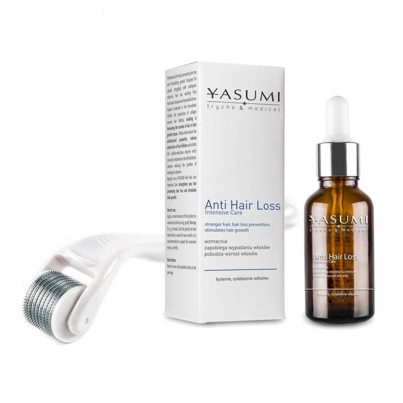 Afbeelding van Yasumi Dermarollerset Anti Hair Loss 0,25mm.
