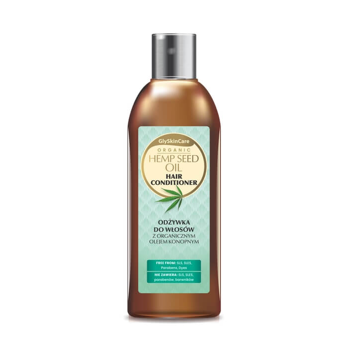 Afbeelding van GlySkinCare Hemp Seed Oil Hair Conditioner 250ml.
