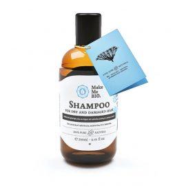MakeMeBio® Shampoo For Dry And Damaged Hair 250ml.
