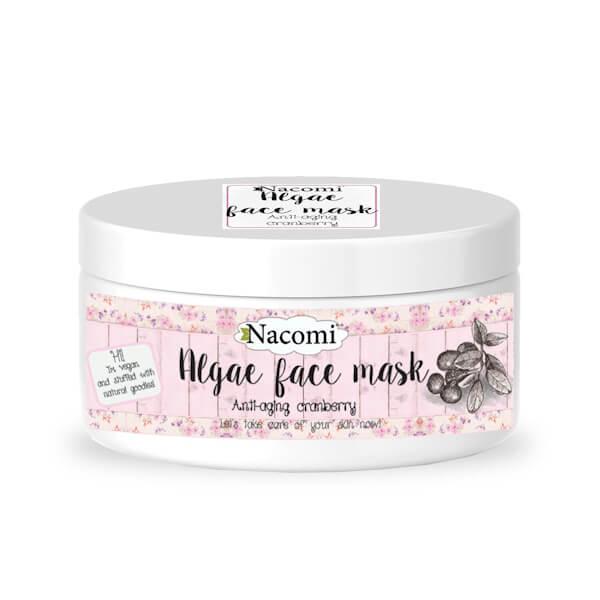 Afbeelding van Nacomi Algae Face Mask - Anti-Aging Cranberry 42gr.