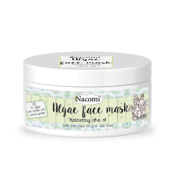 Afbeelding van Nacomi Algae Face Mask - Moisturizing Olive Oil 42gr.