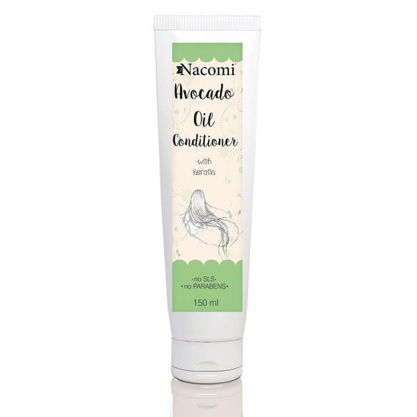 Afbeelding van Nacomi Avocado Oil Conditioner With Keratin 150ml.