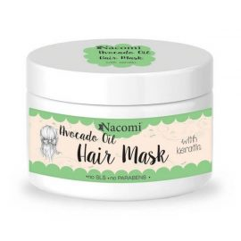 Nacomi Avocado Oil Hair Mask with keratin 200ml.