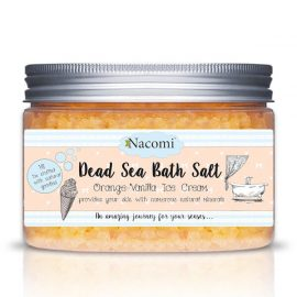 Nacomi Dead Sea Salt Bath - Orange Vanille Ice Cream
