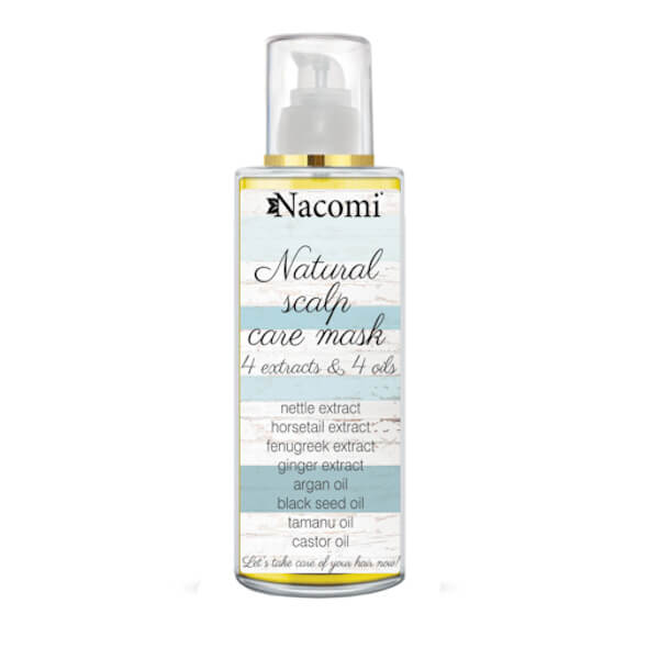 Afbeelding van Nacomi Natural Scalp Care Mask - 4 Extracts & 4 Oils 50ml.