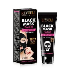 REVUELE® BLACK MASK Peel Off Co-enzymes 80ml.