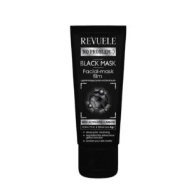 REVUELE® NO PROBLEM Black Mask Peel Off Met Actieve Koolstof 80 ml.